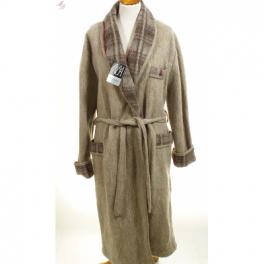 Robe de chambre homme laine des Pyrénées sahara
