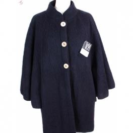 Veste cape laine des Pyrénées noir