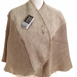 Chauffe épaules laine des Pyrénées sahara