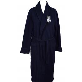 Robe de chambre homme laine des Pyrénées unie