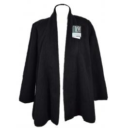 Veste tendance laine des Pyrénées noir