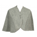 Chauffe épaules laine des Pyrénées nuage