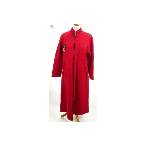 robe d 39 hotesse laines des pyrenees pour femme en rouge. Black Bedroom Furniture Sets. Home Design Ideas