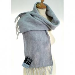 Echarpe laine des Pyrénées nuage