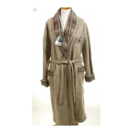 Robe de chambre homme laine des pyr n es en stock chez val for Veste de chambre homme