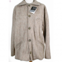 Veste homme laine des Pyrénées col tricot