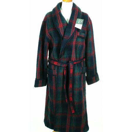 Robe ecossaise homme - Robe de chambre homme laine des pyrenees ...
