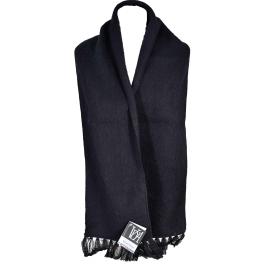 Echarpe laine des Pyrénées noir
